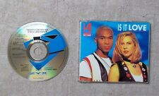 "CD AUDIO / TWENTY 4 SEVEN FEATURING STAY-C AND NANCE ""IS IT LOVE"" CDM 4T 1993"