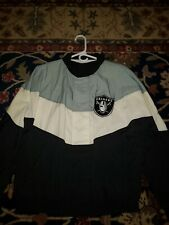 Vintage 90s Oakland Raiders Apex Jacket Coat Men's Medium NFL