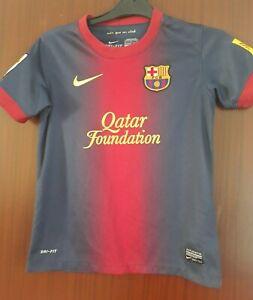Official FC Barcelona Home Shirt Junior 2012-2013 Kids Size 128-140CM 8-10 Yrs