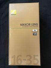 Nikon AF-S Nikkor 16-35mm f/4G ED VR lens *MINT