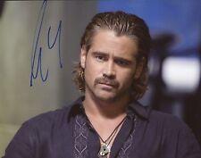 """~~ COLIN FARRELL Authentic Hand-Signed """"MIAMI VICE"""" 8x10 Photo ~~"""