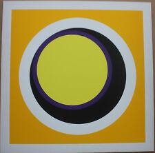 CLAISSE Geneviève Sérigraphie silkscreen abstrait géométrique op art 1967 H9 *