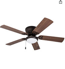 52� Ceiling Fan With Led Globe Light