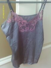 Vintage Maidenform Gray Sweet Nothings Camisole Size 34