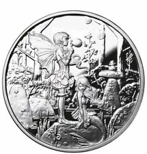 Amy Brown Collection 1oz Second Cousins .999 Fine Silver Proof Round COA