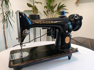 Singer 201K Heavy Duty Semi Industrial Electric - Leather & Denim Sewing Machine
