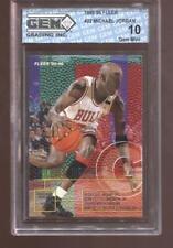 Michael Jordan 1995-96 Fleer #22 HOF Bulls GEM MINT 10