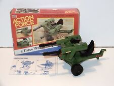 1983 GI JOE / ACTION FORCE Z FORCE WHIRLWIND 100% COMPLETE IN BOX MIB - PALITOY