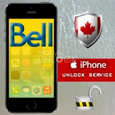 Network Official Factory Unlock Service for IPhone 4S,5,5C,5S Bell Canada