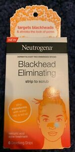 Neutrogena Blackhead Eliminating Strip to Scrub (6 strips), new in box