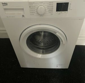 Beko Washing Machine In Great Working Order. Only 1-2year Old. With manual.