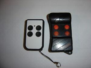 Telecomando quarzato bianco/nero compatibile con TG4 E TG2 APRIMATIC