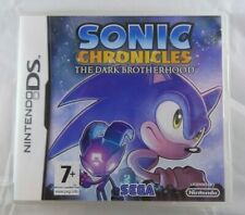 Sonic Chronicles The Dark Brotherhood - DS