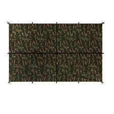 Aqua Quest Safari Sil Tarp - 100% Waterproof - 3 x 2 m (10 x 7 ft) Medium - Camo