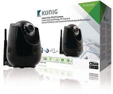 König IP Cam 110B Bewegliche IP Kamera Innen VGA Schwarz NEU