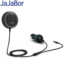 Bluetooth 4.0 Hands Free Car Kit NFC +3.5mm AUX Receiver 2.1A USB Car Charger