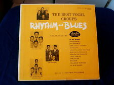 THE BEST VOCAL GROUPS~RHYTHM AND BLUES~ DOOTO~ ORIG PRESSING~ HI FI ~ OLDIES  LP