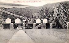 Peel, Isle of Man. The Traie-fo-gog Baths # 73311 by Stengel.