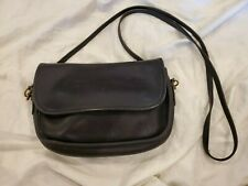 Vintage Coach Crossbody Black Small Purse #B5D-9937