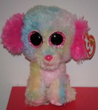"""Ty Beanie Boos ~ LOVESY the 6"""" Dog ~Justice Store Exclusive~ MINT with MINT TAGS"""