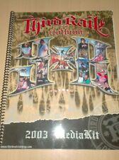 vintage skateboard catalog third rail 2003 madia kit .M