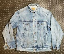 Vtg Levi's Classic Button Down blue Denim Jacket Women XL 57508-0214