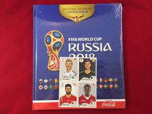 Panini Russia 2018 World Cup 18 Mexico Edition Hard Cover Coca Cola Album