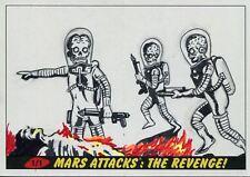 Mars Attacks The Revenge Panoramic Sketch Card By Kelly Greider
