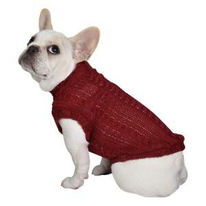 Paris Pawture Turtleneck Dog Sweater NWT