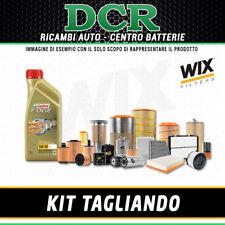KIT TAGLIANDO VOLKSWAGEN TOURAN 1.9 TDI 105CV 77KW DAL 08/2003 + CASTROL LL 5W30