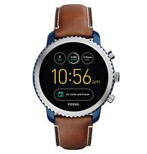 Fossil Q eXplorist 3. GEN. Messieurs Smartwatch ftw4004 marron cuir-excellent état!