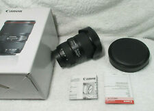 Canon EF 16-35mm f/4 L IS USM Lens - Black used