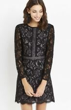 Oasis long sleeve lace dress size 12. Brand new with original tags.