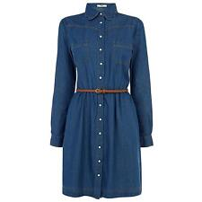 OASIS SCALLOP COLLAR SHIRT DRESS 16