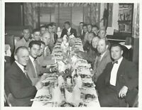 "VTG LAFD Los Angeles Fire Department 1950 Dinner Event Ceremony Photo 8""x10"""