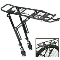 Alloy Rear Bicycle Pannier Rack Carrier Bag Luggage Cycle Mountain Bike Bla W7I0