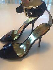 Purple *GueSs by MaRciNo* Sexy Sandal Heels Ankle Strap Women's Size 8 M