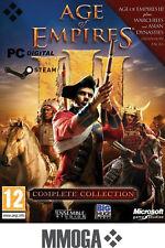 Age of Empires 3 III Complete Collection Key - PC steam codigo digital AOE3 [ES]