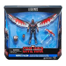 "Marvel Captain America Civil War Marvel's Falcon w/ Fight Tech & Red Wing 3 3/4"""