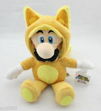 SUPER MARIO BROS. LUIGI VOLPE PELUCHE 23Cm. Plush Kitsune World New Wii U 2 3D