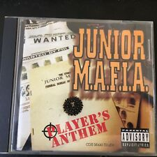 JUNIOR M.A.F.I.A. Player's Anthem 6TRX w/ REMIXES & INSTRUMENTAL  BIG BEAT CD