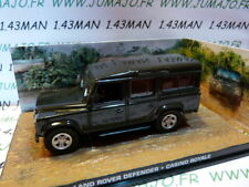 JB85E voiture 1/43 IXO 007 JAMES BOND : LAND ROVER Defender 110 Casino Royale