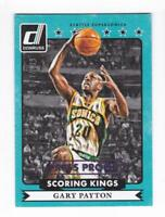 2014-15 Gary Payton #/199 Panini Donruss Kings