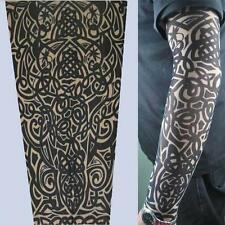 1 x tattoo sleeve fake tribal stocking party rave birthday fancy dress body art