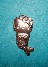 Pendant Hello Kitty Charm Mermaid Charm Cat Charm Hello Kitty Mermaid Charm Meow