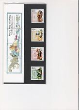 1989 ROYAL MAIL PRESENTATION PACK FOOD & FARMING YEAR MINT DECIMAL STAMPS