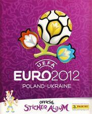 Panini Sticker Album UEFA EURO 2012 Polen Ukraine Sammelalbum NEU