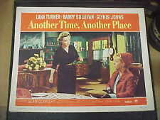 ANOTHER TIME, ANOTHER PLACE, orig 1958 LC #3 [Lana Turner, Glynis Johns]