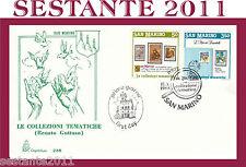 SAN MARINO, FDC CAPITOLIUM , 17/3/1988  LE COLLEZIONI TEMATICHE - GUTTUSO  (25)