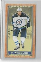 2019-20 O-pee-chee OPC hockey Wood Mini C-28 Blake Wheeler - Winnipeg Jets